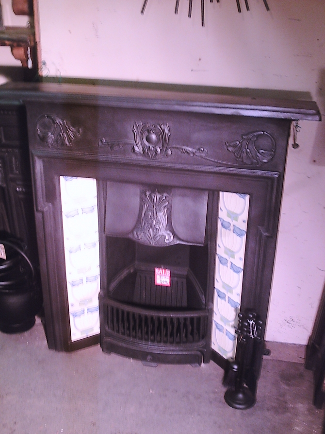 Tile Victorian Fireplace Inserts 670 x 893