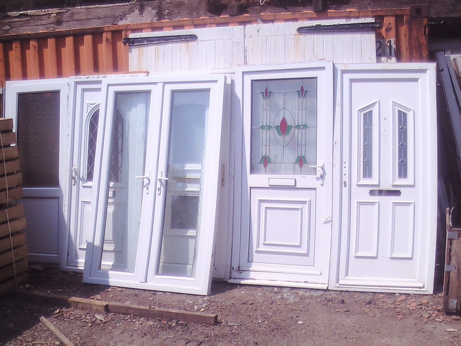 Interior selection of upvc doors and frames ar1037 for Reclaimed upvc doors