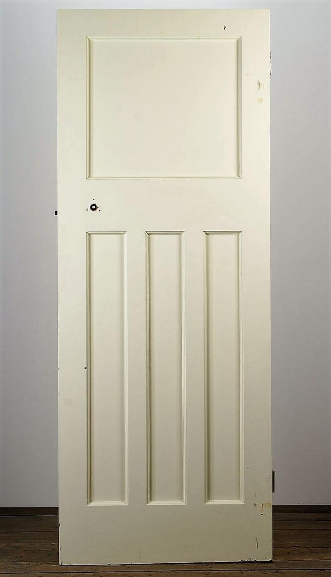 Reclaimed one over three panel wooden doors for 1 over 3 panel door