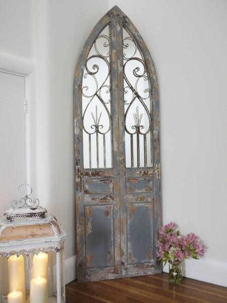 Large rustic door mirror for Large door mirror