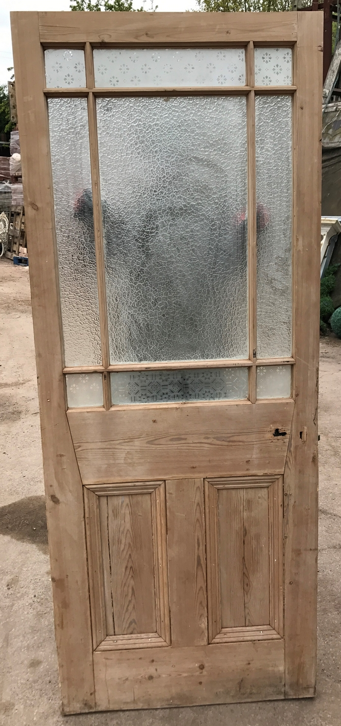 Victorian front door wood reclaimed period old antique for Old wood doors salvaged