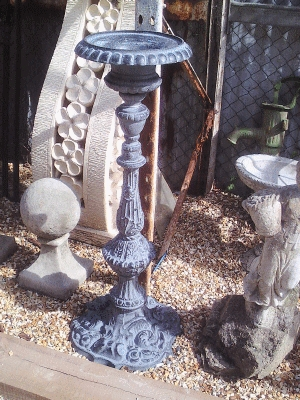 Cast Iron Candle Holders AR471 Sold