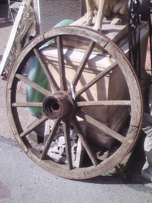 Cart Wheel AR474 Sold