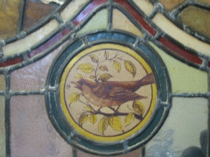Hand Painted Stained Glass AR046