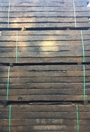 "8 6"" Reclaimed Creosoted Grade Sleepers A324"