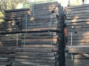 "Reclaimed Railway Sleepers Creosote Treated 64"" Long"