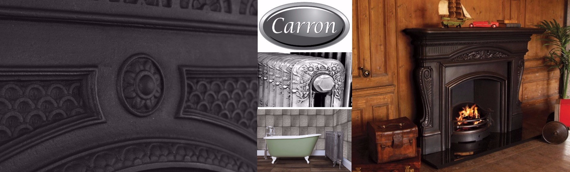 Antique & New Carron Fireplaces