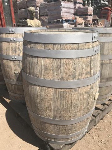 sand blasted barrels