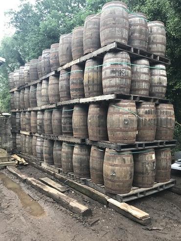 Barrels, Barrels and more Barrels and not a drop to drink