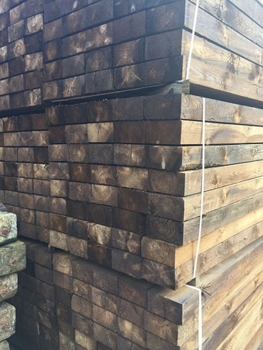 Reclaimed Sawn Sleepers Back in Stock