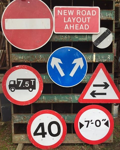 Road Sign selection