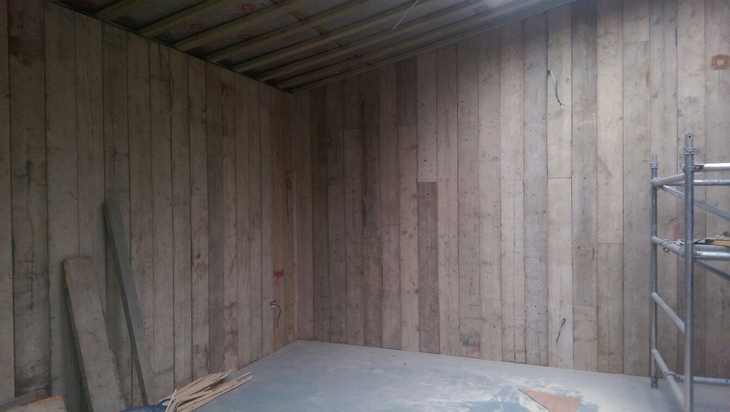 Scaffold Board Cladding