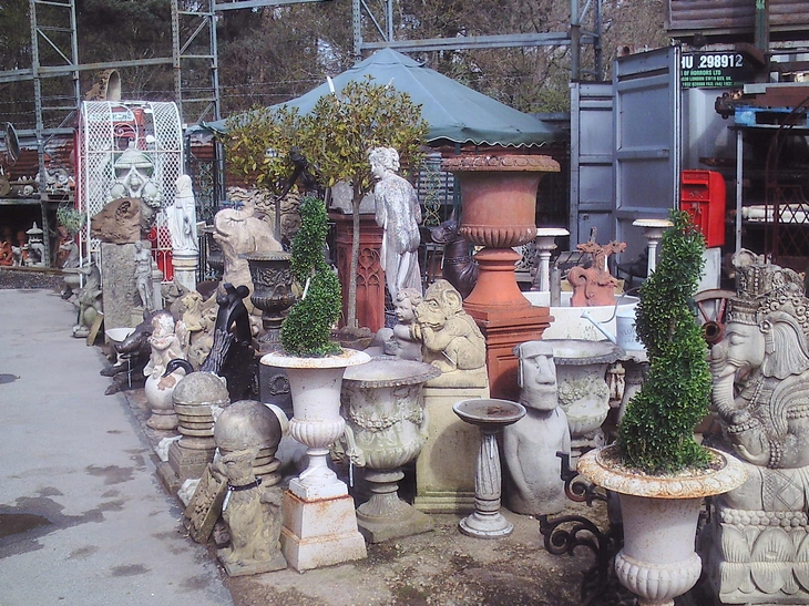 Selection of Urns & Statues