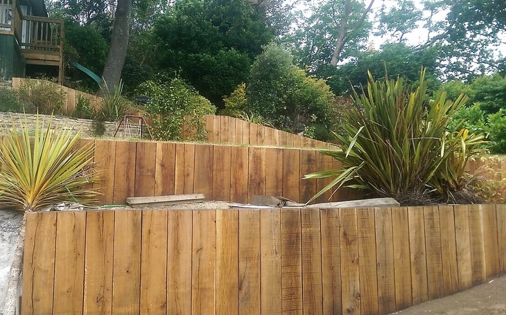 Oak Sleeper Wall