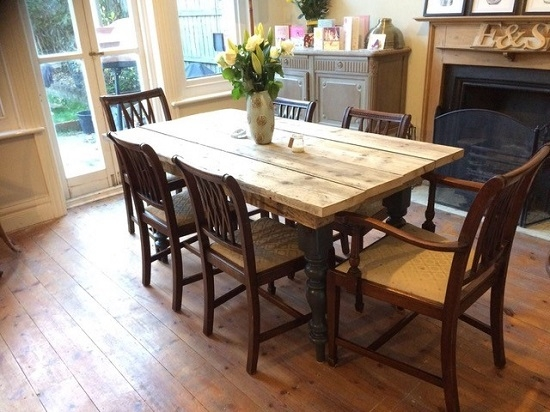 Scaffold Dinning Table