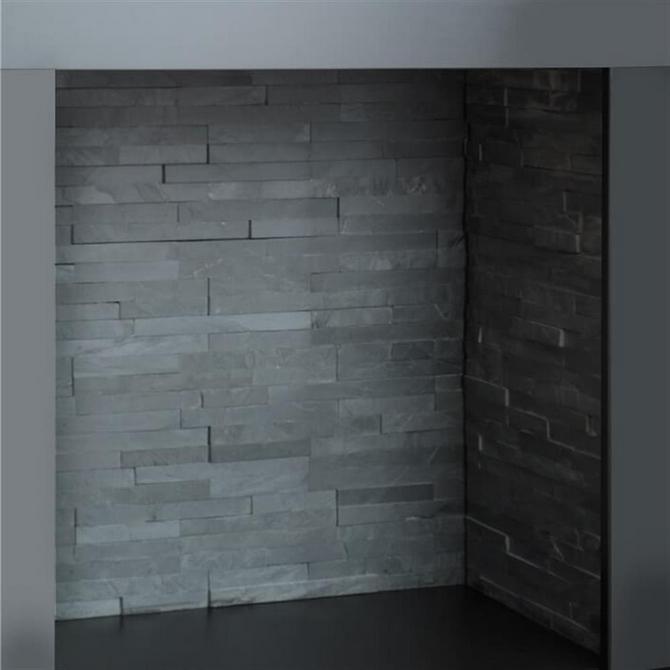 Charcoal Split Slate Chamber