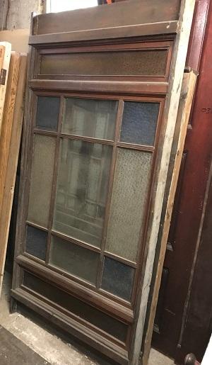 Salvaged 10 Panel Glazed DIvider
