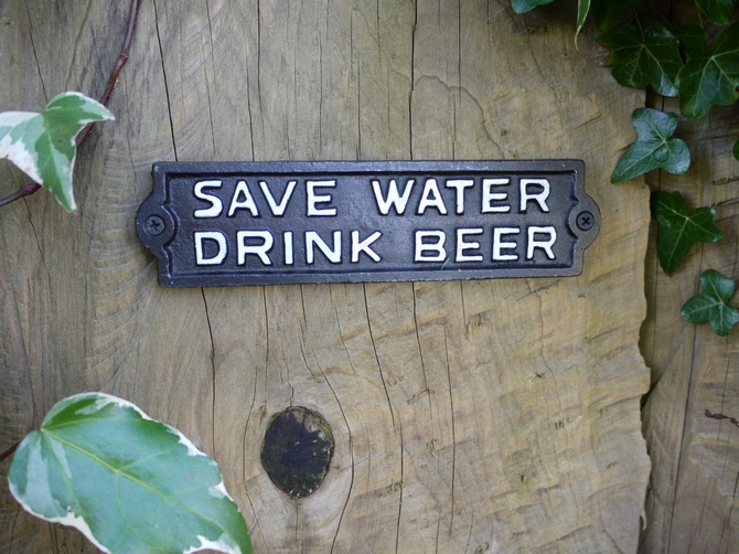 Sign (Drink Beer) 2647