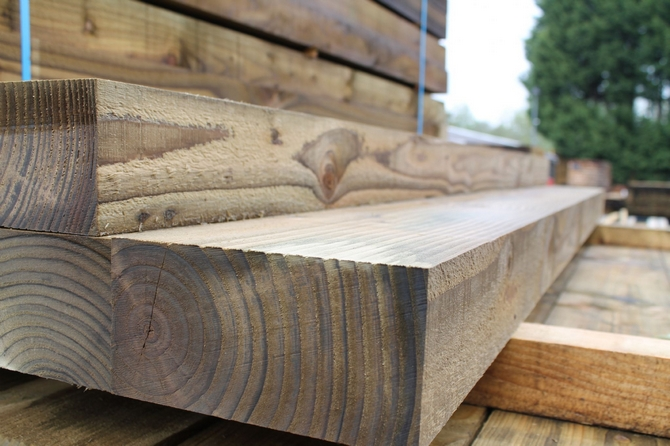New British Eco Treated Sleepers SOLD OUT