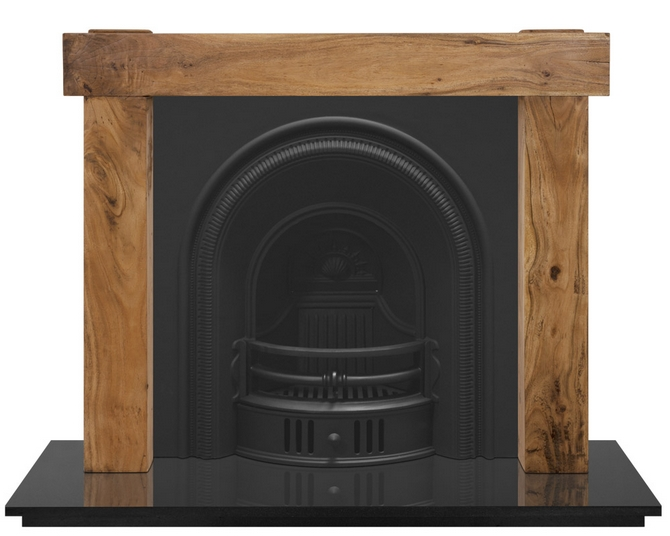 Beckingham Cast Iron Fireplace Insert by Carron