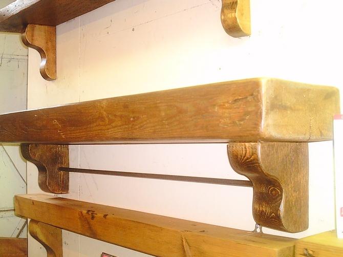 Bespoke Wooden Overmantel AR585