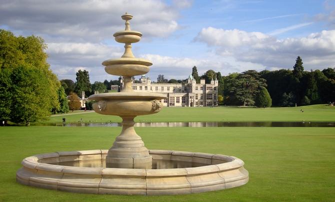 Georgian Lion Head Fountain