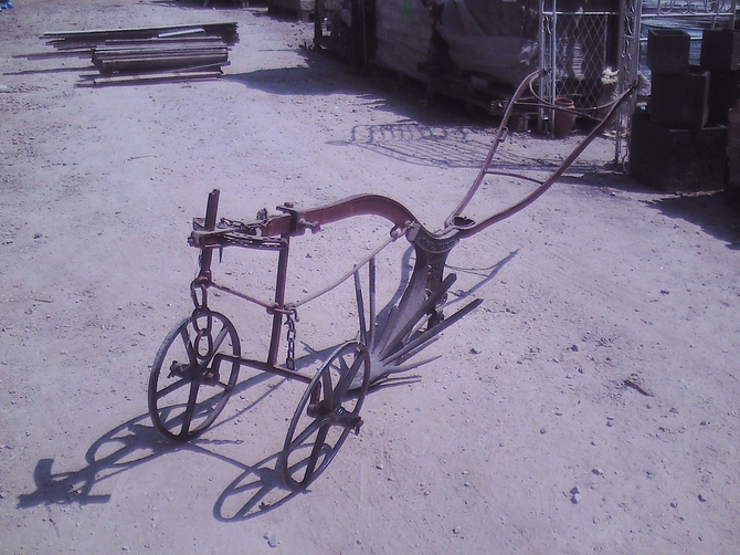 Original Horse Drawn Plough