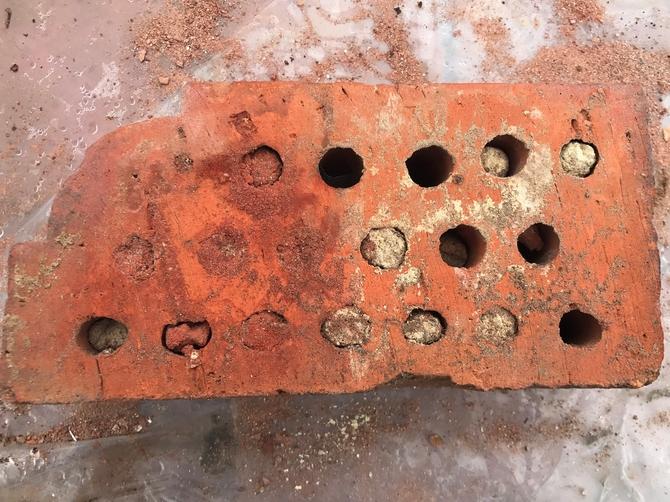 Reclaimed Bull Nose Bricks 230 x 110 x 70mm