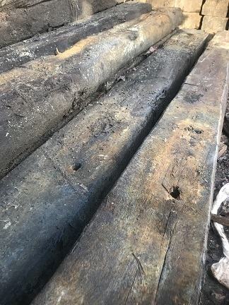 RECLAIMED RAILWAY SLEEPERS - GRADE A/B WHOLE PACK SPECIAL