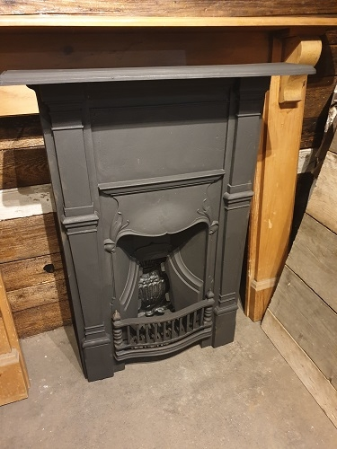 Original Cast Iron Bedroom Combination Fireplace