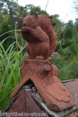 Squirrel Roof finial angled ridge