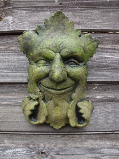 Winker Green man plaque