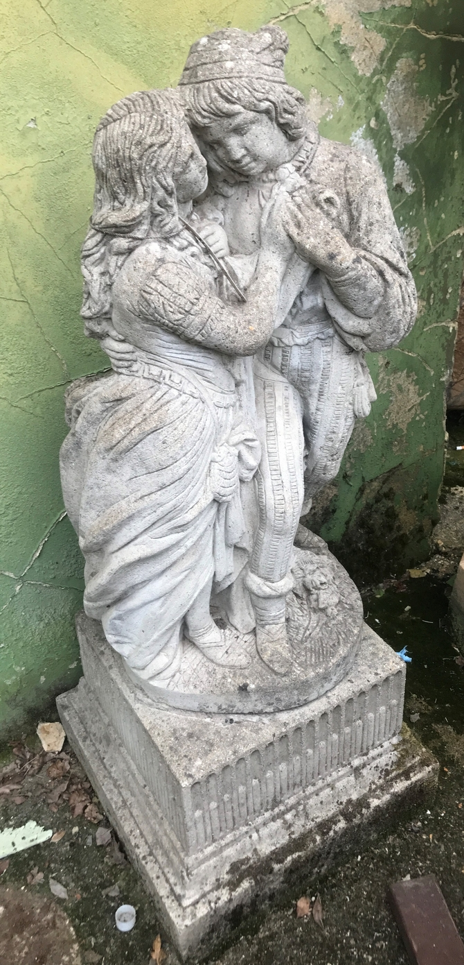 Reclaimed Statue