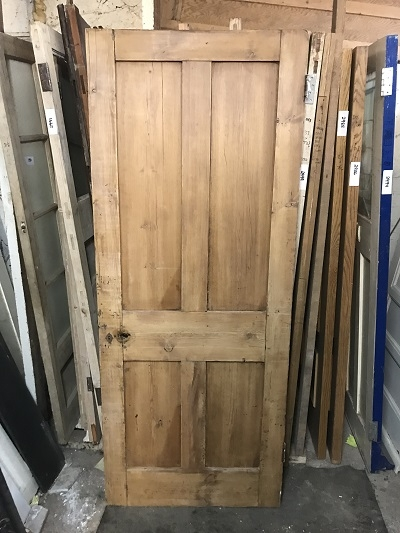 Reclaimed Stripped 4 panel Door SOLD