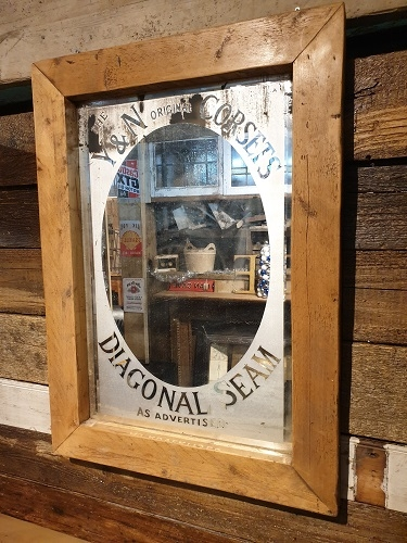 Bespoke Framed Etched Mirror