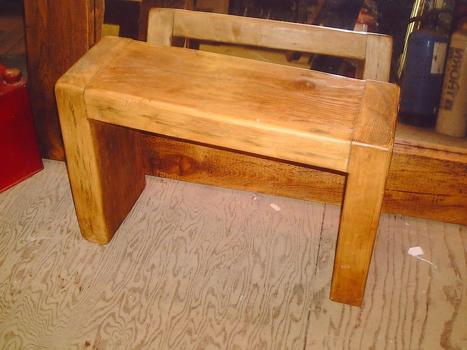 Reclaimed Timber Bench AR594