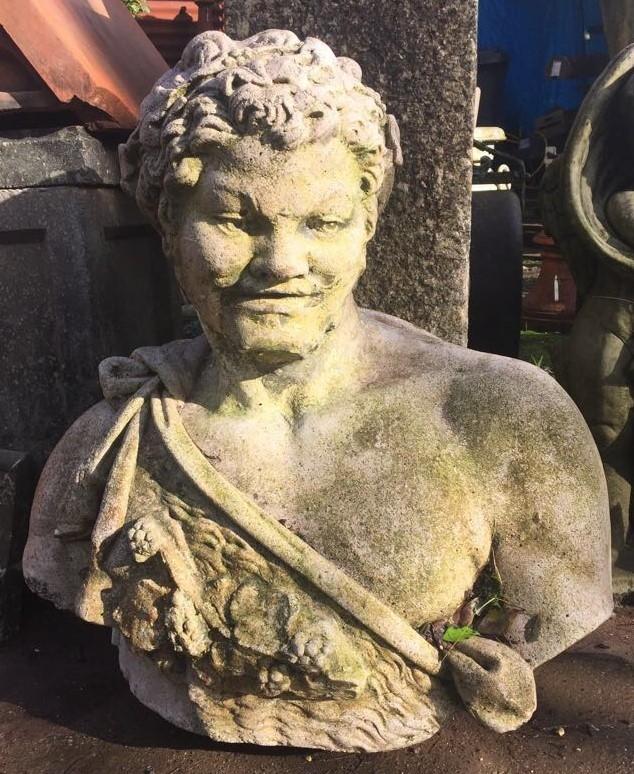 Reclaimed Roman Bust