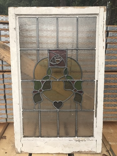 Multi Coloured Stained  Glass Window