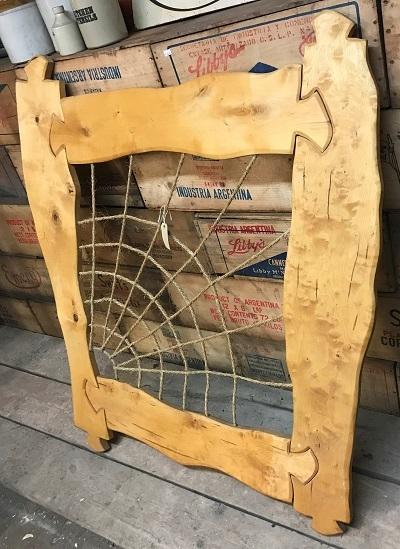 Jigsaw timber frame