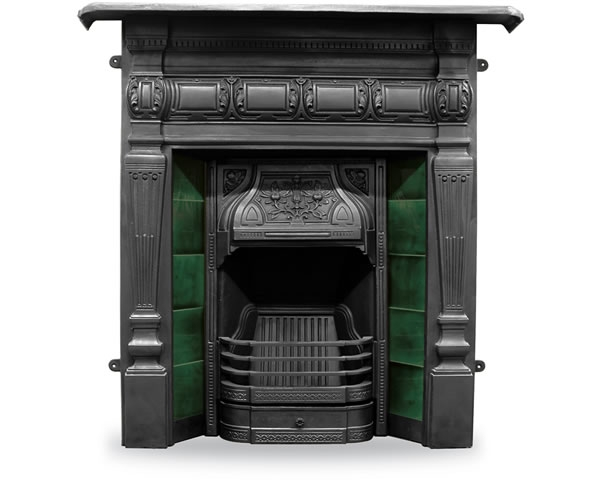 Lambourn Cast Iron Combination Fireplace