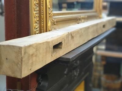 Reclaimed Oak Beam Inglenook Fireplace 1.75m
