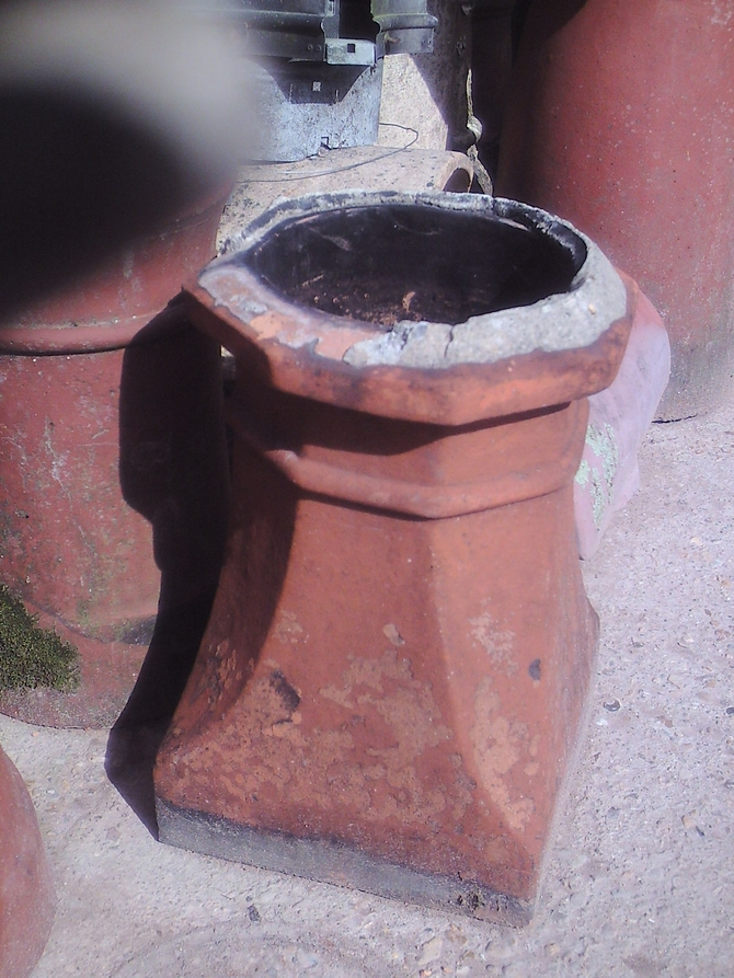 Square Base Chimney Pot