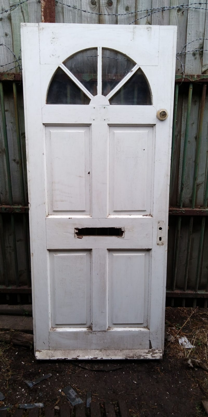 Reclaimed Front Door