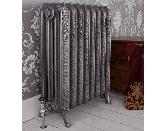 Ribbon 4 Column Cast Iron Radiator