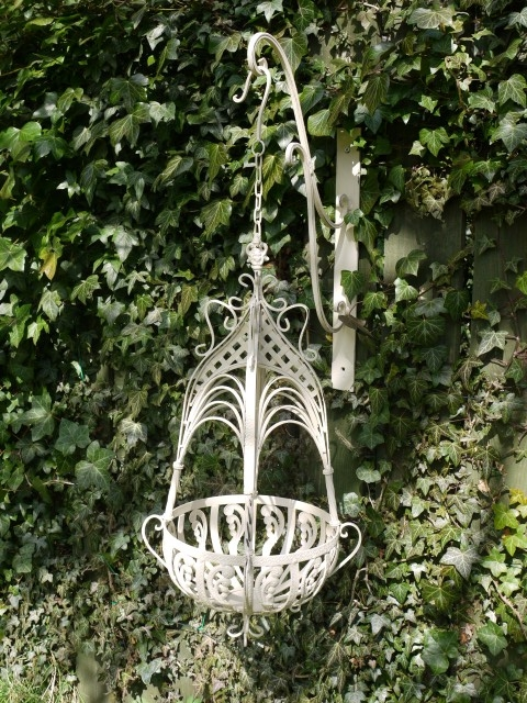 Large Hanging Basket (Cream)
