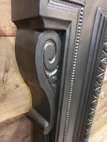 Large Decorative Original Cast Iron Surround