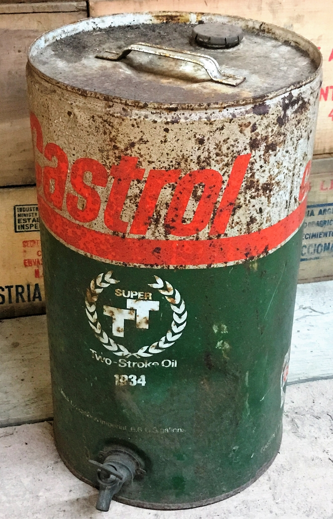 Vintage 1934 Castrol Oil Container