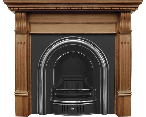 Coleby Cast Iron Fireplace Insert by Carron