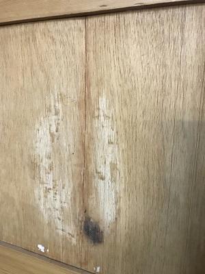 Reclaimed Stripped 1 over 2 Door