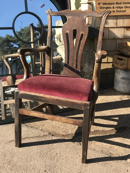 Reclaimed Decorative Hardwood Chair